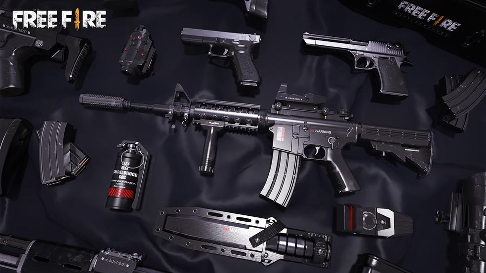 Armas do Free Fire: Veja as melhores combinações para curtas e longas distâncias