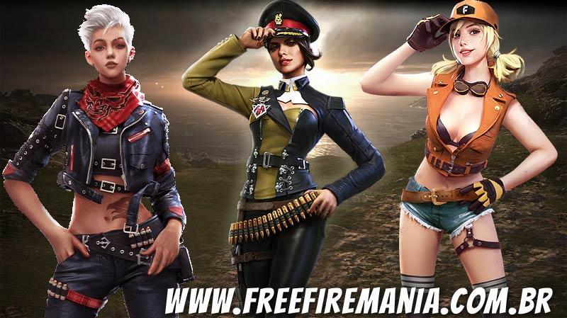 As 3 piores habilidades de personagens do Free Fire no modo Contra Squad
