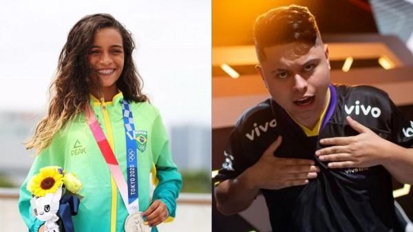 Atletas medalhistas Olímpicos ou jogador campeão do Free Fire, quem ganha mais?