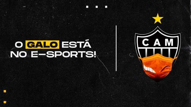 Atlético-MG anuncia eSports e entrada no Free Fire