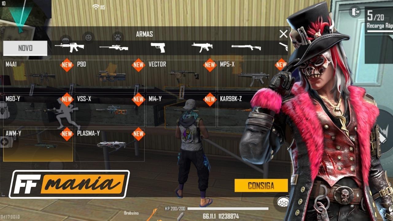 Pembaruan Free Fire Desember 2020: Versi senjata baru tiba di game