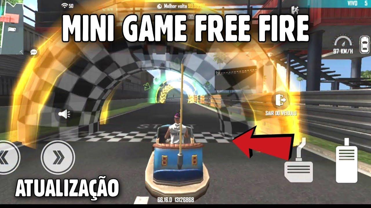 Atualização Free Fire Junho 2021: carrinho bate-bate é a nova atração do game na Ilha de Treinamento