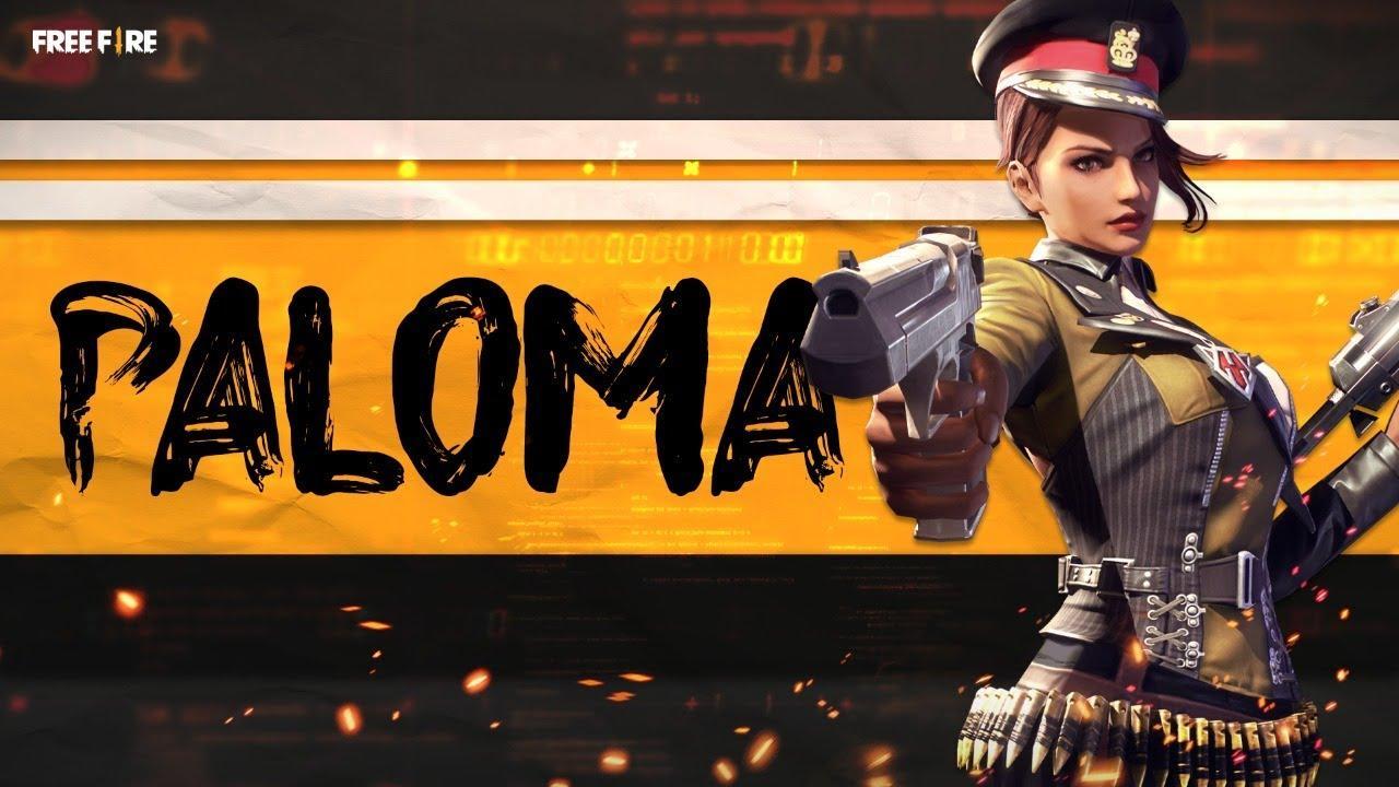 Atualização Free Fire Junho 2021: personagem Paloma é