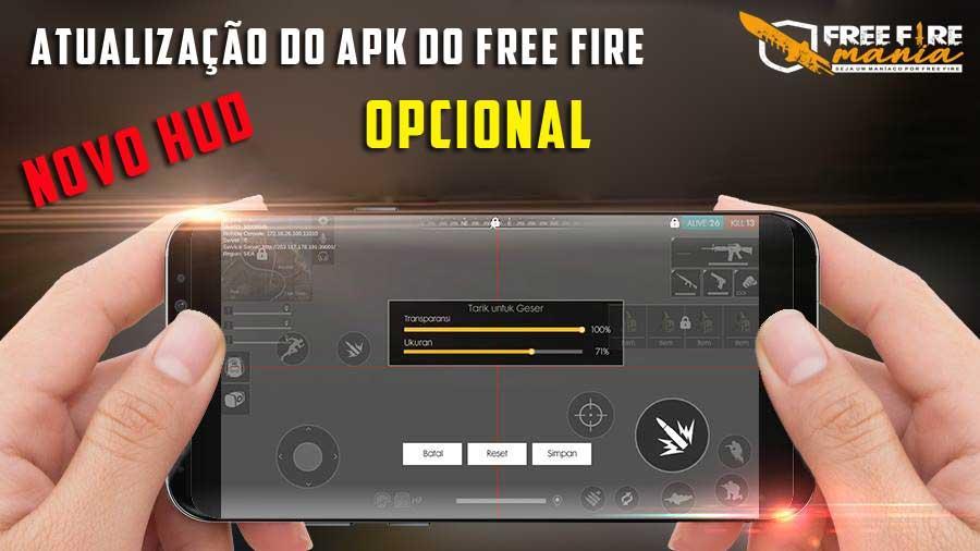 Atualização no APK do Free Fire hoje na Google Play