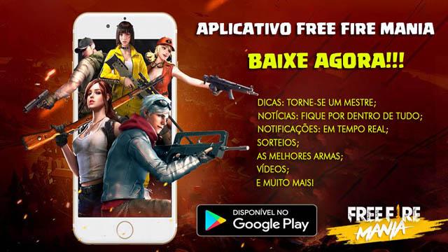 Atualize o App do Free Fire Mania: Versão 4.3