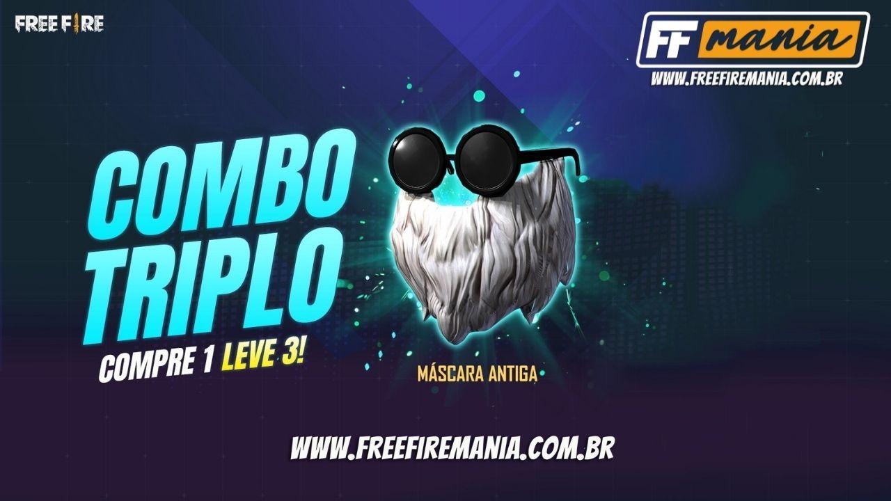 Barbinha Free Fire 2021: Máscara Antiga (Barba do Velho) está de volta em Setembro