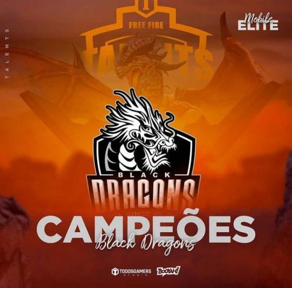 Black Dragons é a grande campeã da Talents Mobile