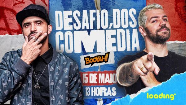 "BOOYAH! anuncia ""Desafio dos Comédia"", evento de Free Fire com Thiago Ventura e Victor Sarro"