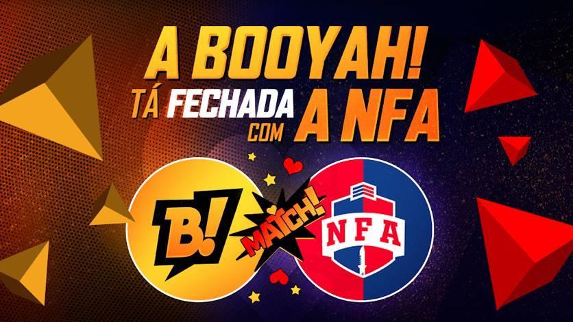 BOOYAH! e Liga NFA firmam parceria para transmissões de campeonatos de Free Fire