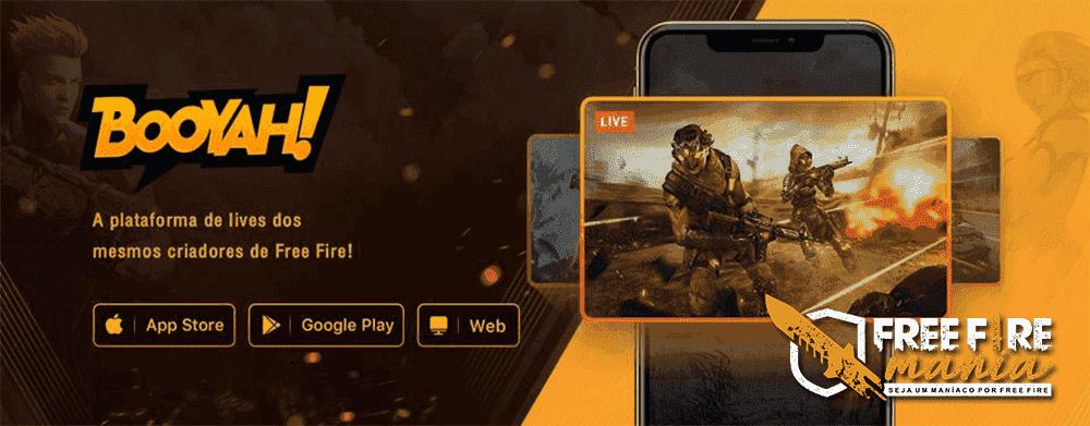 Booyah: Novo App de stream da Garena!