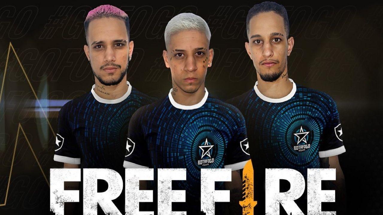 Botafogo Free Fire: equipe carioca contrata os irmãos VgzinnN, VitinnN e VnzinnN