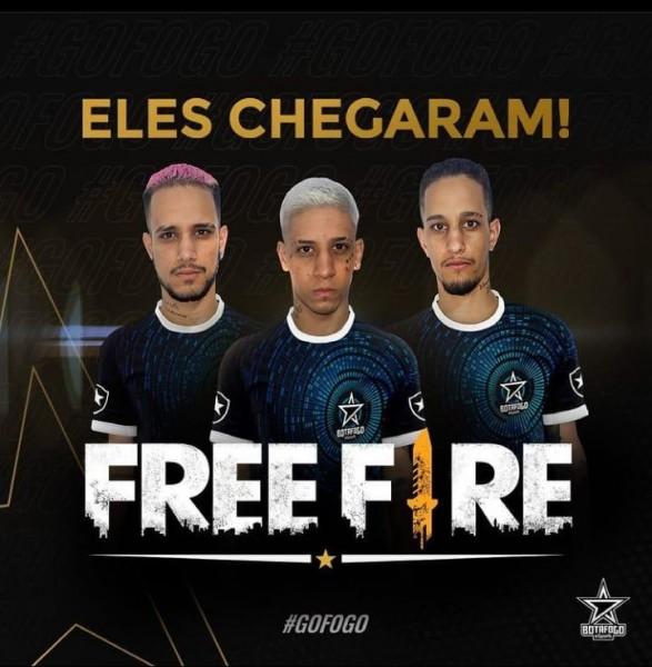 Botafogo Free Fire: Vgzinnn, Vitinnn e Vnzinnn não seguirão na equipe carioca