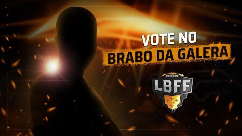 Brabo da Galera de Free Fire: veja como votar no melhor jogador da LBFF