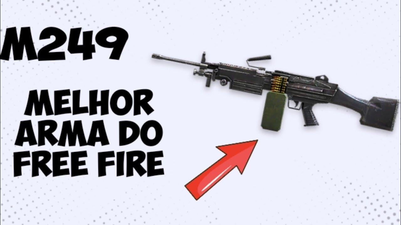 BUFF na M249, a rambão é a nova melhor arma do Free Fire?