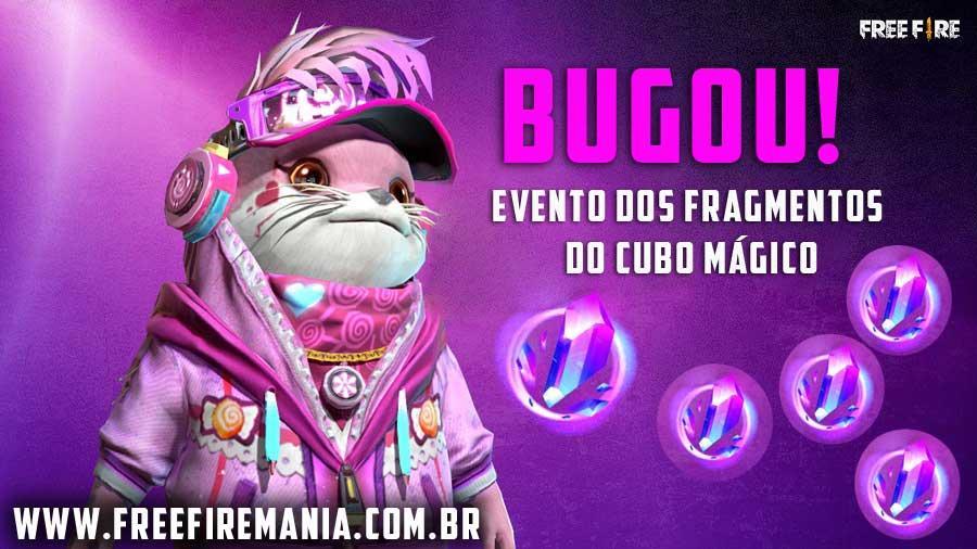 Garena adia o evento de Fragmentos do Cubo Mágico deste domingo