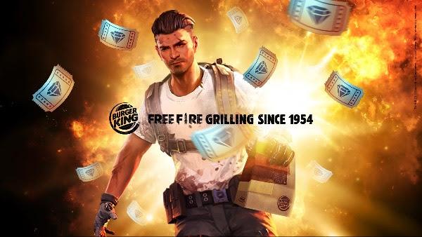 Burger King? e Free Fire incendeiam o mundo dos games no Brasil com parceria in?dita