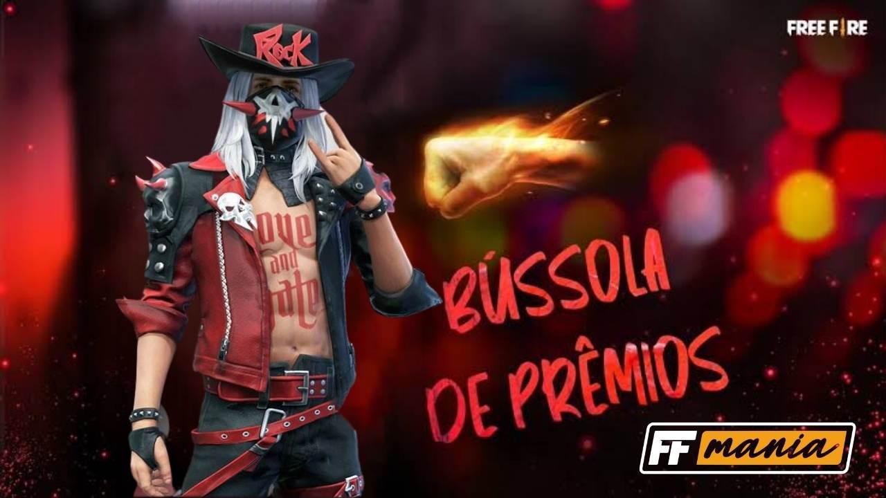 Bussola de Prêmios FF: evento traz inédito pacote Carniça ao Free Fire