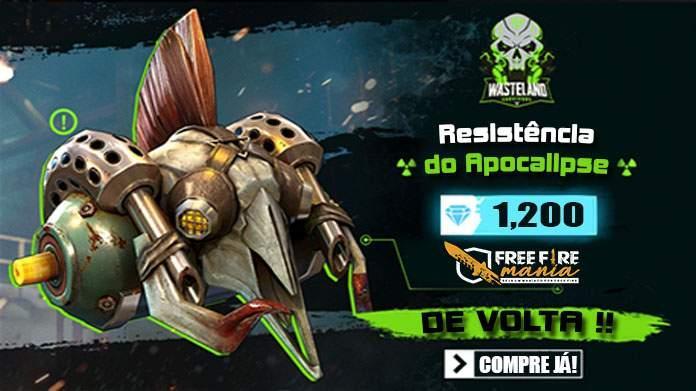 Caixa de Loot - Resistência do Apocalipse de volta ao Free Fire.