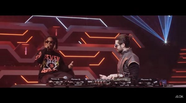 Calça Angelical: Alok e MC Caveirinha lançam a música tema da LBFF (vídeo)