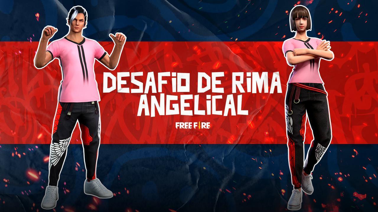 Calça Angelical Vermelha Free Fire: 30 CODIGUINS são lançados pela Garena em desafio