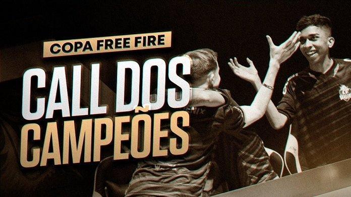 Call dos Campeões: Confira a comunicação da melhor equipe da Copa Free Fire