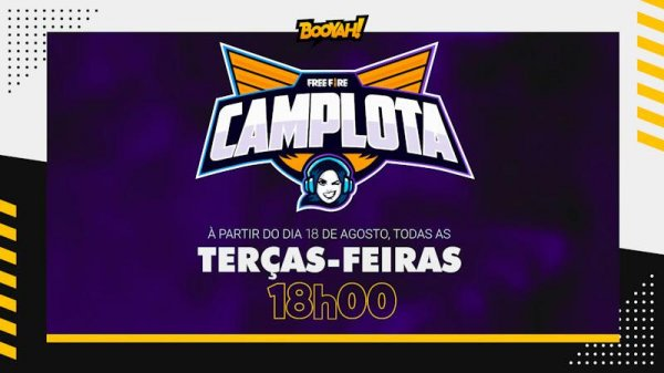 CamilotaXP anuncia campeonato próprio de Free Fire apenas com times femininos