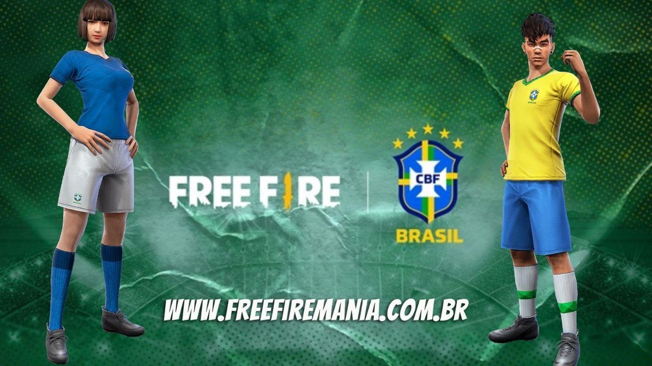 Camisa do Brasil Free Fire: como conseguir as novas camisas da seleção brasileira de futebol