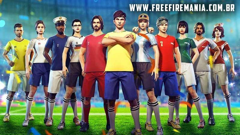 Camisas de Times de volta ao Free Fire