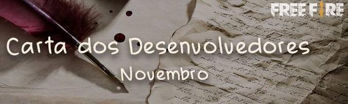 Carta dos Desenvolvedores - Novembro/18