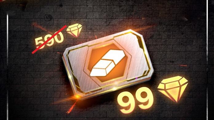 Cartão de Troca de Nome por 99 Diamantes no Free Fire