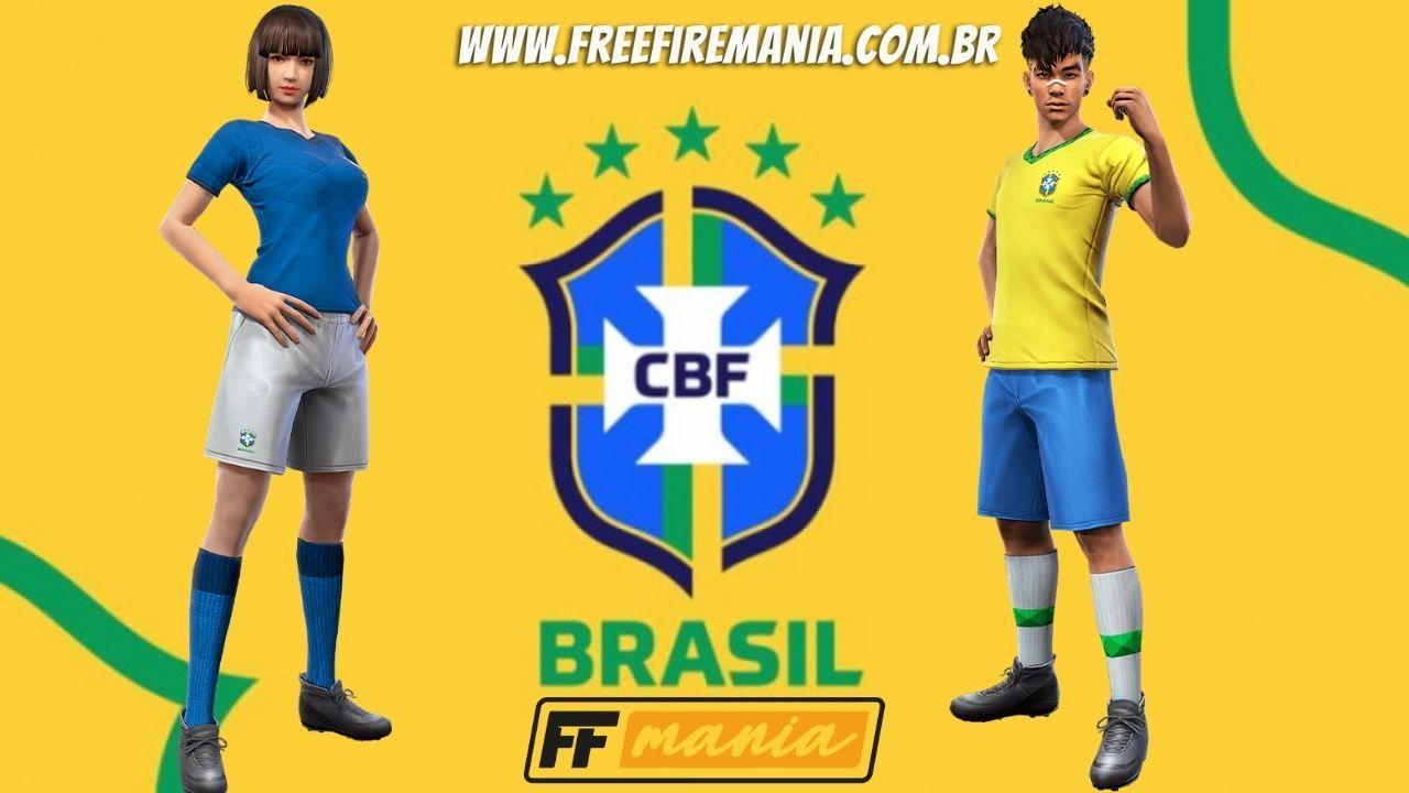 CBF e Free Fire: Garena anuncia parceria do Battle Royale com o futebol brasileiro