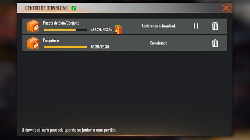 Centro de Download: falha ao baixar os arquivos das skins, veja a solução