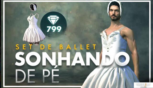 Chegou o Bailarina! Set de Ballet - Sonhando de Pé