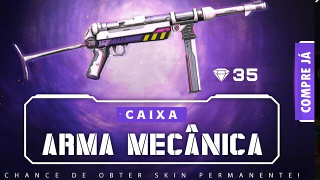 Chegou a Nova Caixa de Arma Mecânica