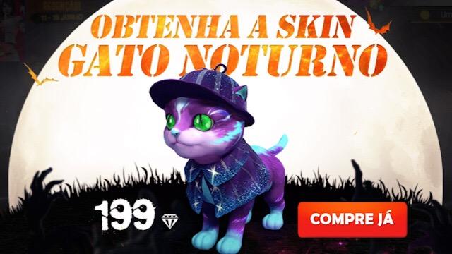Chegou a Nova Skin do Gato Noturno