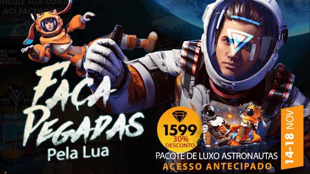Chegou a Nova Skin dos Astronautas!