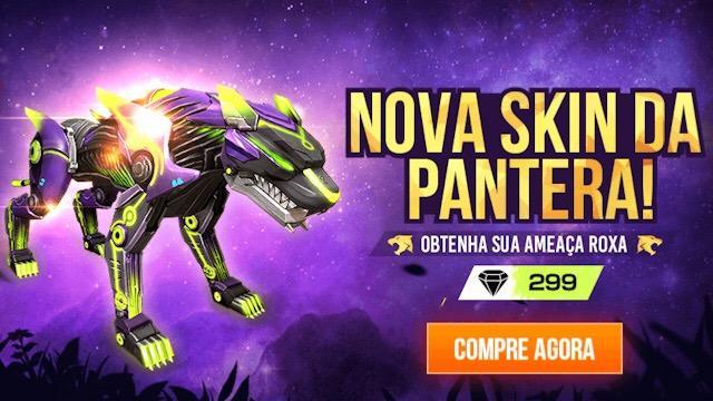 Pantera Noturna Free Fire: conheça a habilidade do pet
