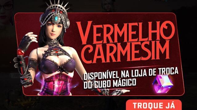 Chegou no Brasil o Novo Cubo Mágico Marionete - Vermelho Carmesim