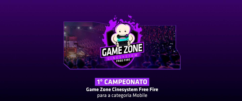 Cinesystem lança campeonato de Free Fire com cinema, pipoca grátis e premiação em dinheiro