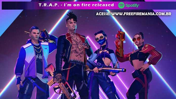 Agora! Códigos do TRAP pelo Spotify do Free Fire