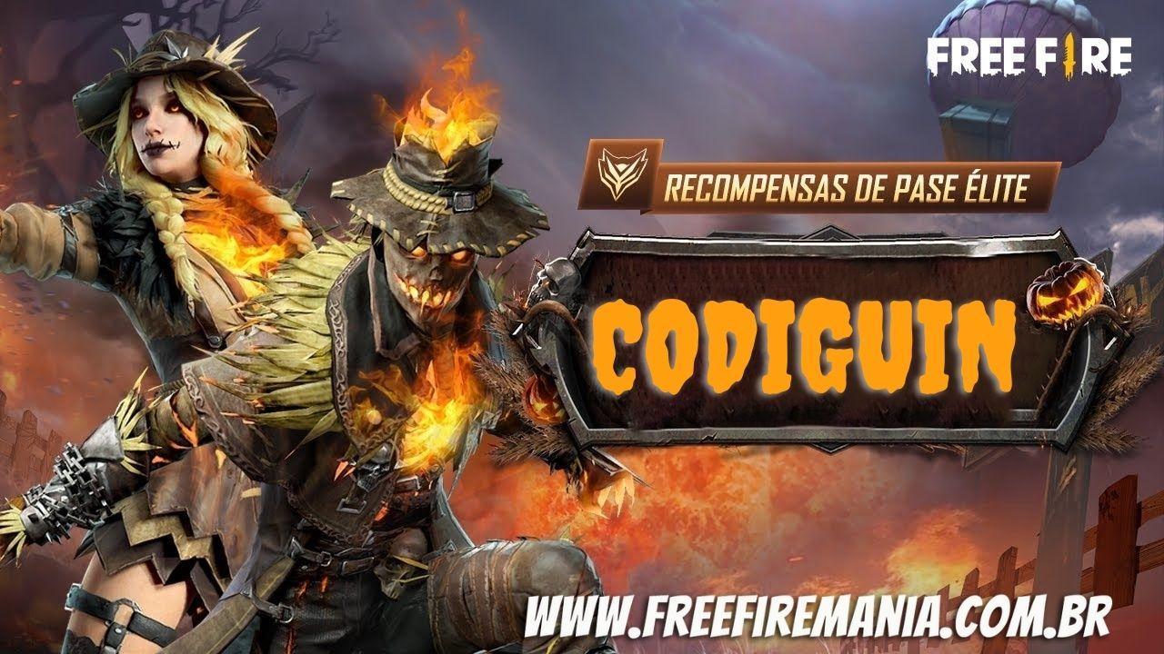 CODIGUIN FF 2021: código com o Passe de Elite disponível no Free Fire, como resgatar no site rewards