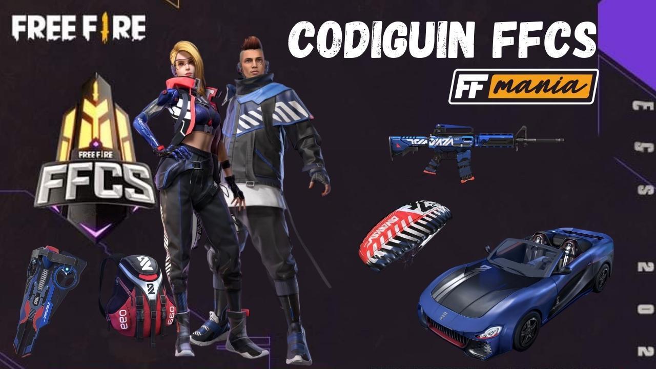 CODIGUIN FF 7 em 1: Garena libera códigos dos itens do FFCS de Free Fire