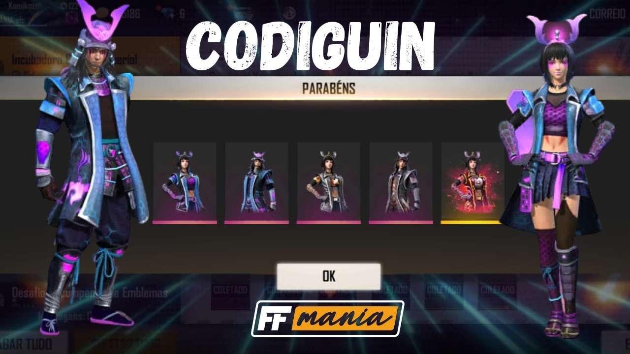 CODIGUIN FF: liberado o novo código da Incubadora Guerra Imperial no Free Fire