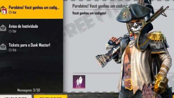 CODIGUIN: liberado os novos códigos do Bandeira de Pirata, o Bandeirão