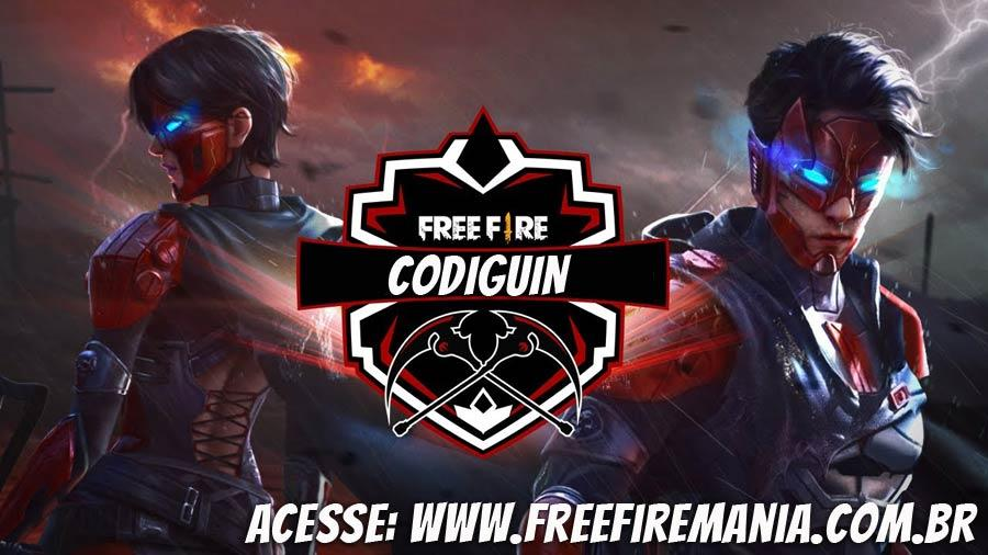 CODIGUIN: Kulit tanpa jiwa baru tiba di Free Fire