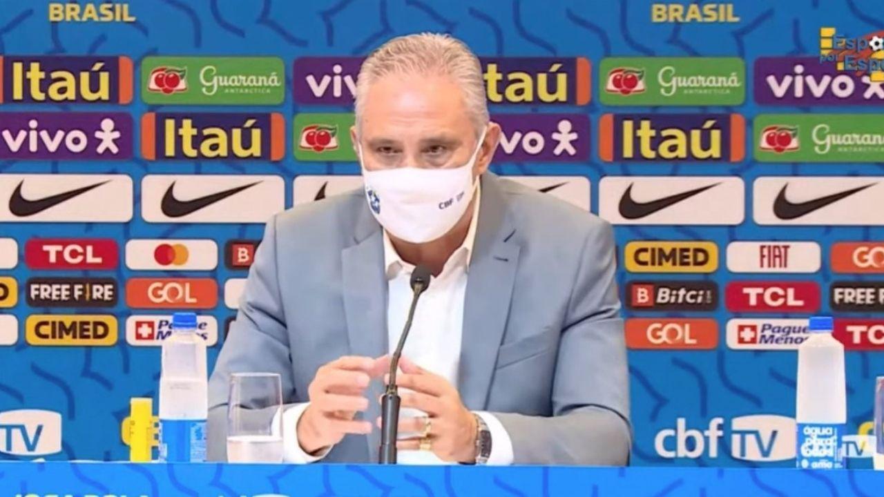 Com Free Fire de patrocinador, Tite faz convocação da Seleção Brasileira de Futebol