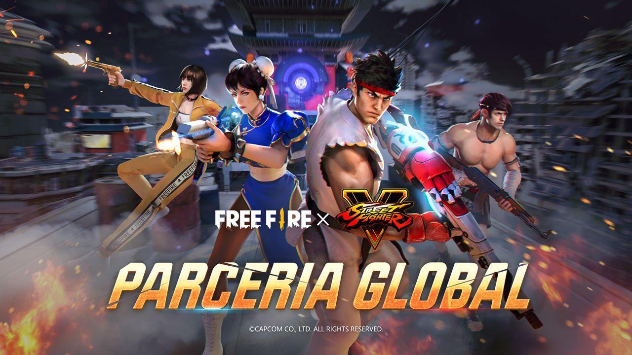 Con Hadouken y más, la colaboración entre Free Fire y Street Fighter V comienza hoy