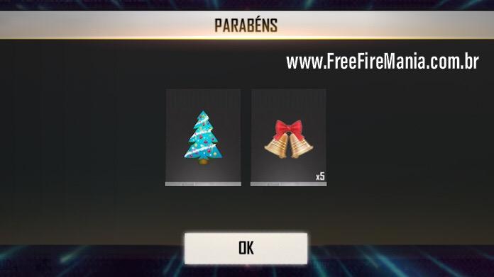 Como Coletar Árvores de Natal no Free Fire e Trocar Por Skins de Armas Grátis!