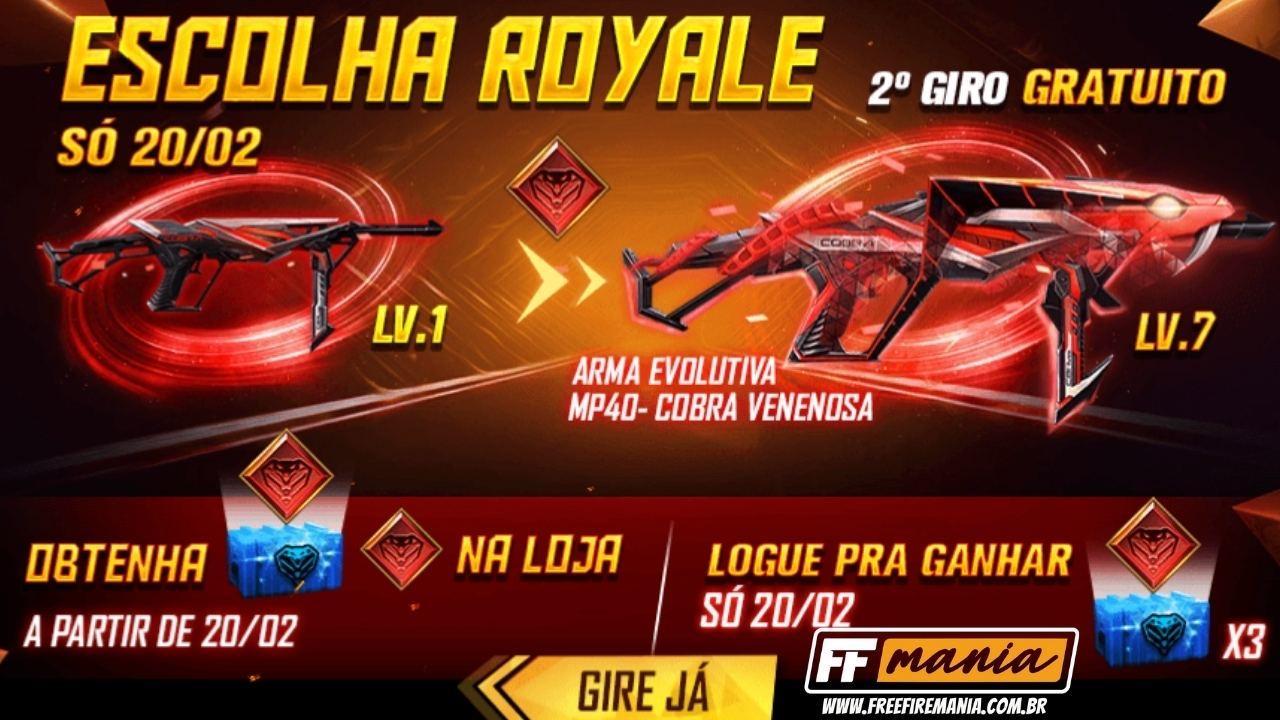 Cara mendapatkan skin baru MP40 Venomous Snake di Free Fire (FF): Panduan langkah demi langkah