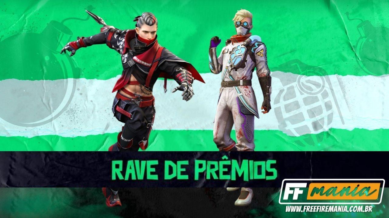 Como conseguir o novo Conjunto Escorpião Nayarit no evento Free Fire através da Rave de Prêmios FF